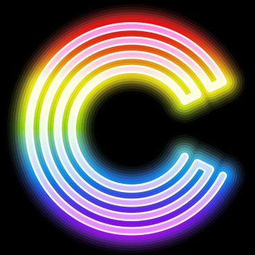 Clubbercise neon C icon