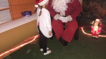 Santa & Child Image